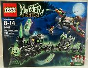 New Sealed 9467 Lego Monster Fighters Ghost Train Plane Glow 741 Pc Set Retired