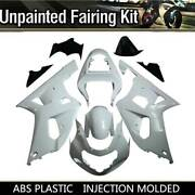 Motocycle Cowl Bodywork Injection Fairing Frame Kit For Suzuki Gsxr600 750 01-03