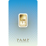 L@@k Pamp | 5g Gold Bar | Am Yisrael Chai Minted Prepper Survival Investment