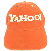 Yahoo Cap Search Engine Computer It Nerd Spell Out Logo Employee Baseball Hat