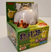 Tomy Pokemon Surprise Candy Toy Game Japanese Sealed Charizard Clefairy - 1997