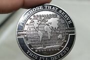 Global Solutions Sterling Cross Defense Systems Canada Challenge Coin