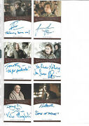 Game Of Thrones - Inscription Autograph Card Selection Nm Rittenhouse