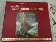 The Ten Commandments Vhs 2 Tapes Set In Box 35th Anniversary Collectors Edition
