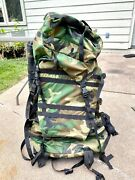 Us Military Gregory Um21 Spear System Ruck Woodland Camouflage Patrol Main Pack