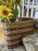 Basketville The Shaker Collection Stair Basket With Original Tag