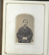 Dozens Of Cdvs, Tintypes Housed In Beautiful Ornate Albums Oversized Tintypes