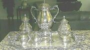 Fb Rogers Vintage Silver Plated 6 Pc. Tea/coffee Serving Set