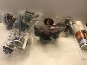Star Wars Episode I Cup Toppers Taco Bell Kfc Pizza Hut 1999 Lot 6 New Sealed