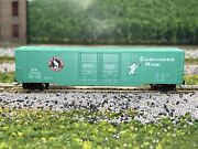 N Scale - Con-cor Great Northern 60' Double Plug Door Boxcar Gn 139043 N2786
