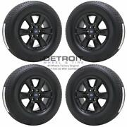 18 Ford F150 Gloss Black Wheels Rims And Tires Oem Set 4 2015-2019 3998