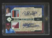 2005 Ultimate Collection Mike Schmidt-david Wright Dual Auto Patch Ed 3/5 Hof