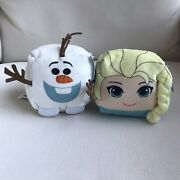 Cubd Collectibles Disney Frozen Elsa And Olaf Stuffed Toys Set Of 2