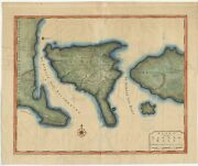 Antique Map Of Bali By Valentijn 1726