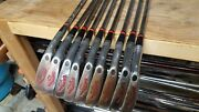 Walter Hagen Vintage Haig Ultra Wh385 Irons 2-pw New S-200 Shafts,