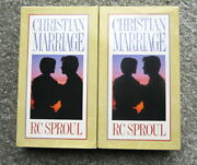 Christian Marriage - Video Tape Series, Volumes 1 And 2, Rc Sproul Vhs
