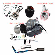 Lifan 125cc Motor Engine 4up Carby Wiring Assembly For Crf50 70 Ct70 Z50r