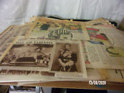 Vintage Lot Newspapers 1930and039s Seattle Daily And Sunday Times + Extras