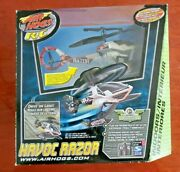 Air Hogs Rc Havoc Razor Remote Control Helicopter New