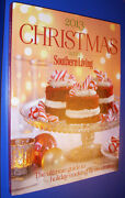 2013 Christmas With Southern Living Cookbook Crafts Decorations