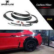 For Chevrolet Camaro 16-19 Carbon Fender Flares Extra Wide Body Wheel Arches