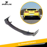 Carbon Fiber Rear Trunk Spoier Boot Wing Fit For Chevrolet Camaro Coupe 16up