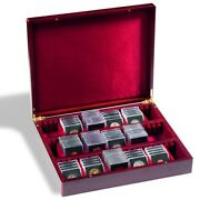Coin Box Rare Jewelry Antique Watch Collection Luxury Case Medal Collector Gift