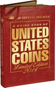 The Official Red Book Guide United States Us Coins 2014 Leather Limited Edition