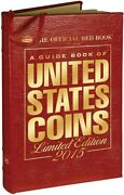 The Official Red Book Guide United States Us Coins 2015 Leather Limited Edition