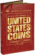 The Official Red Book Guide United States Us Coins 2016 Leather Limited Edition