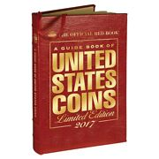 The Official Red Book Guide United States Us Coins 2017 Leather Limited Edition