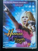 Hannah Montana Forever - Dvd - Brand New Sealed Super Rare Collectible
