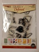 Simply Defined Die And Clear Stamp Sets Sizzix Compatible - You Choose
