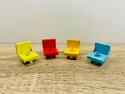 Lego Duplo Stool Seat Chair Kitchen Living Room Bedroom Red Yellow Blue Green
