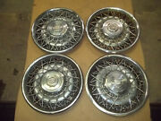 Cadillac Seville Fleetwood 78 79 80 81 Hubcap Wheel Cover Hub Cap 15 Wire Oem 4