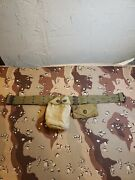 Wwii Us Army Belt Canteen Cover And First Aid Pouch