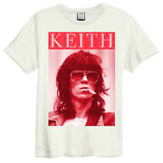 The Rolling Stones And039kool Keefand039 Natural T-shirt - Amplified Clothing - New