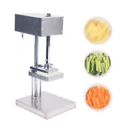 3blades Stainless Steel French Fry Cutter Potato Vegetable Slicer Commercial