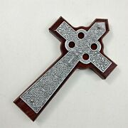 The Cross In My Pocket 5-3/4 Tall Wood Metal Crucifixes And Crosses