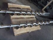 9 Inch Diameter Stainless Steel Screw Augers For Screw Loader