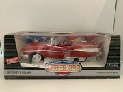 1/18 Scale Diecast Cars Ertl American Muscle 57 Chevy Convertible