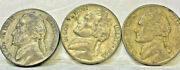 United States 3 X Dimes  2 X 1943 S 1 X 1945 Vf But Very Collectable