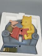 Disney Classic Winnie The Pooh Resin Single Light Switch Plate Pooh's Library