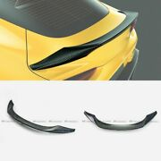 For Toyota Supra A90 2019+ T Type Forged Carbon Look Rear Trunk Spoilers Wings