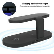 5 In1 Fast Charging For Mobile Phone Watch Earphones Wireless Charger Station