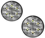 Grote 63821-5x2 Trilliant 4 Round Bright White Led Work Lights