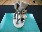 Wdcc Disney Andldquolady And The Tramp Tramp In Loveandrdquo With Box And Coa New