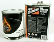Shadow Gray Metallic Basecoat Paint Gal And Fast Reducer Ford Cx Hfp254 High Teck