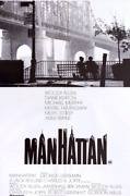 Wood Allenand039s And039manhattanand039 Original Vintage American Comedy Film Poster 1979