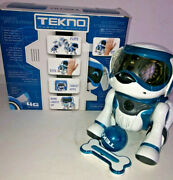 Tekno Robotic Puppy With Ball And Bone